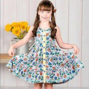 Matilda Jane Tag You're It Floral Sleeveless Dress